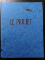 """Cahier du Pavé """"Le projet"""""""