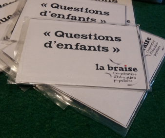 "Cartes ""Questions d'enfants"""